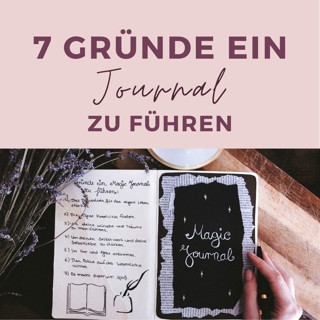 7 Gründe ein Journal zu führen